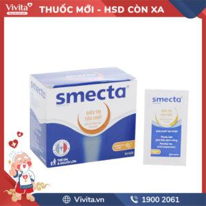 Thuốc trị tiêu chảy Smecta Hộp 30 gói