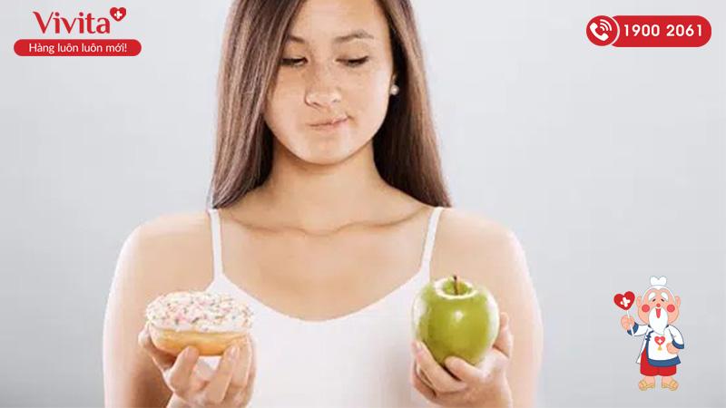 Tóc gãy rụng do mất cân bằng trong chế độ dinh dưỡng
