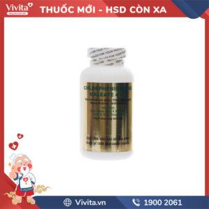 Thuốc Chlorpheniramine Maleate 4mg Imexpharm Chai 1000 viên