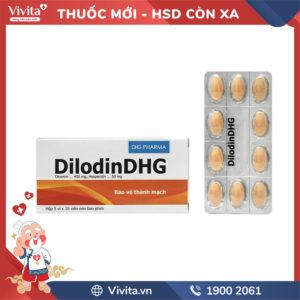 Thuốc Dilodin DHG Hộp 50 viên