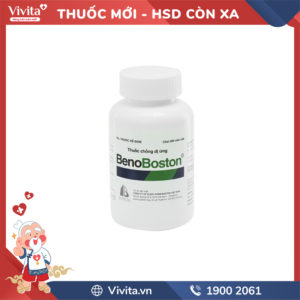 Thuốc chống dị ứng BenoBoston Chai 500 viên