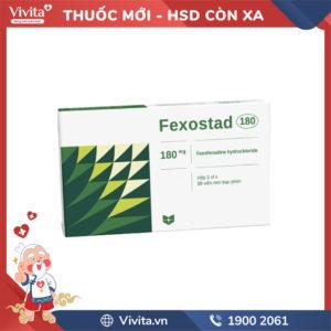 Thuốc chống dị ứng Fexostad 180 Hộp 10 viên