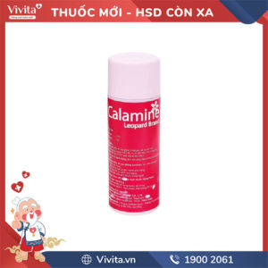 Dung dịch điều trị bệnh ngoài da Calamine Chai 120ml