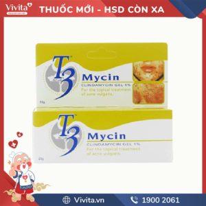 Gel trị mụn T3 Mycin