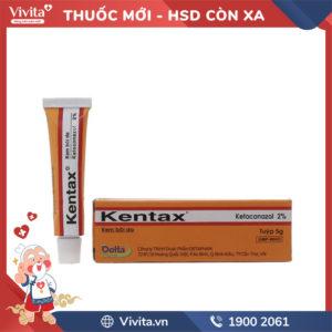 Kem bôi trị nấm da Kentax 2%