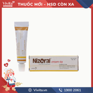Kem bôi trị nấm da Nizoral 5g