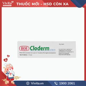 Kem bôi trị viêm da Cloderm cream