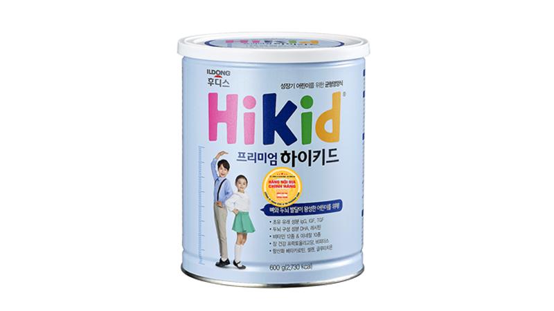 Sữa giúp tăng trưởng chiều cao Hikid Hàn Quốc