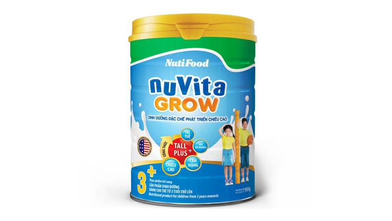Sữa tăng chiều cao cho trẻ trên 1 tuổi Nuvita của Nutifood