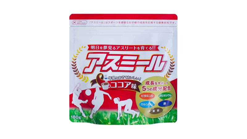 Sữa tăng chiều cao cho trẻ trên 10 tuổi Asumiru Nhật Bản