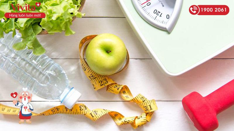 Tăng cân bằng cách kiểm soát lượng calo