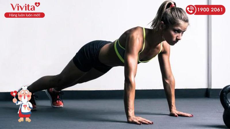 Tập thể dục hỗ trợ tăng cân hiệu quả