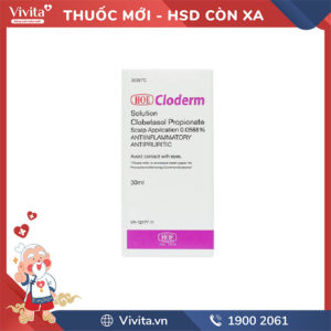 Thuốc bôi trị các bệnh về da Cloderm Scalp 30ml