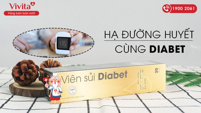 viên sủi diabet có tốt không