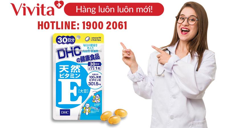 DHC Vitamin E Soybean nhật bản