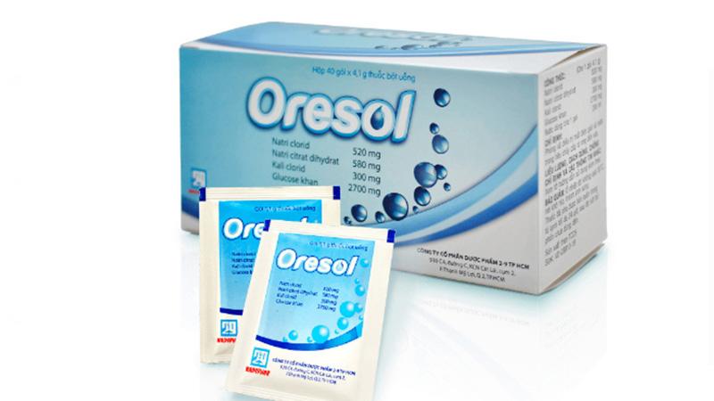 Oresol bù nước điện giải