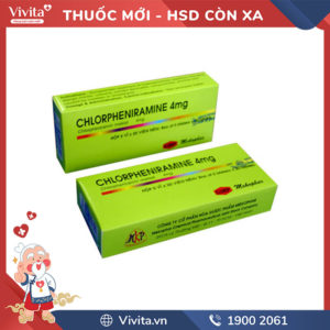 Chlorpheniramine 4mg