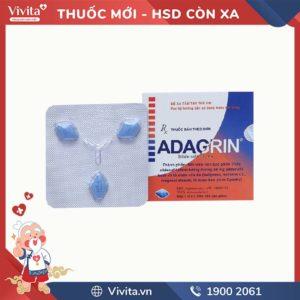 Thuốc trị rối loạn cương dương Adagrin 50mg