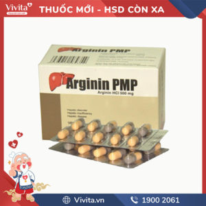 Thuốc hỗ trợ chức năng gan Arginin Pmp