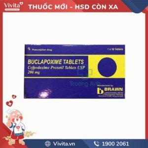 Thuốc kháng sinh trị nhiễm khuẩn Buclapoxime Tablets