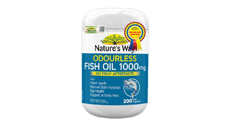 Viên dầu cá Nature's Way Úc