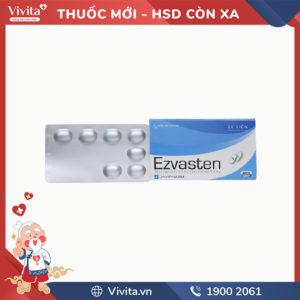 Thuốc trị mỡ máu Ezvasten 10mg