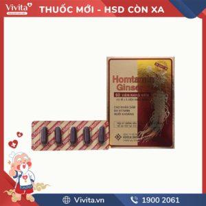 Thuốc bồi bổ sức khỏe Homtamin Ginseng