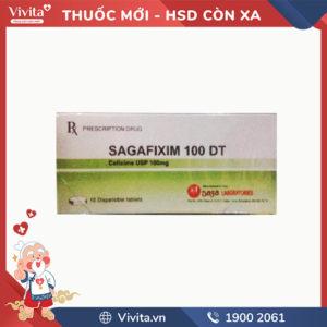 Thuốc kháng sinh Sagafixim 100