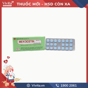 Thuốc kháng viêm Mekocetin
