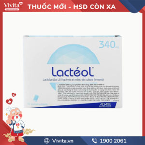 Men vi sinh trị tiêu chảy Lactéol