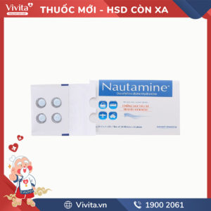 Thuốc chống say tàu xe Nautamine