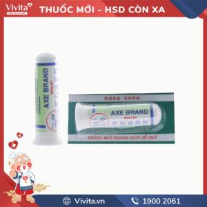 Ống hít trị nghẹt mũi Axe Brand