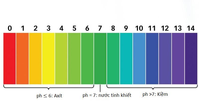 Độ pH sản phẩm