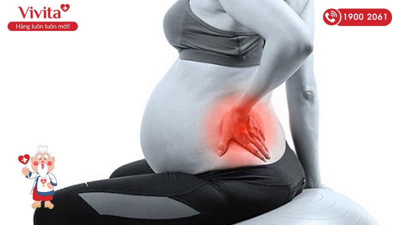 Sức nặng khi mang thai là nguyên nhân gây ra đau khớp ở các mẹ bầu