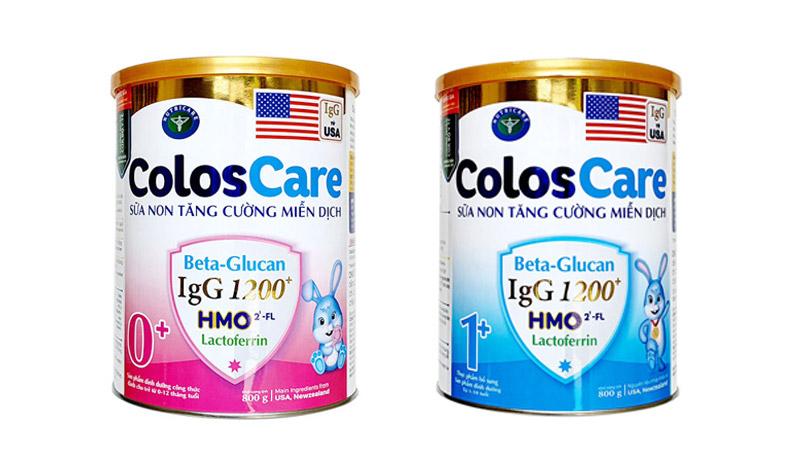 Sữa ColosCare tăng cường miễn dịch từ bên trong
