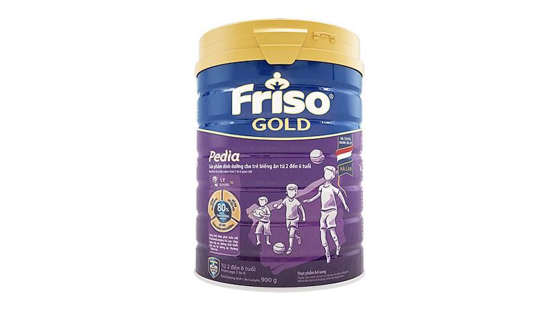 Sữa dành cho trẻ suy dinh dưỡng Friso Hà Lan