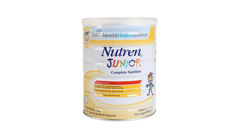 Sữa dành cho trẻ suy dinh dưỡng Nutren junior