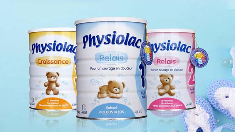 Sữa cho trẻ biếng ăn chậm lớn Physolac