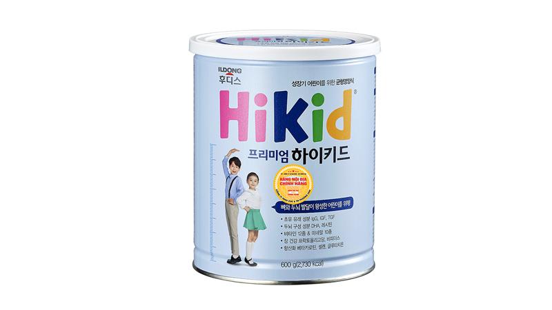 Sữa Hikid Premium giúp phát triển chiều cao, cải thiện hệ miễn dịch cho trẻ