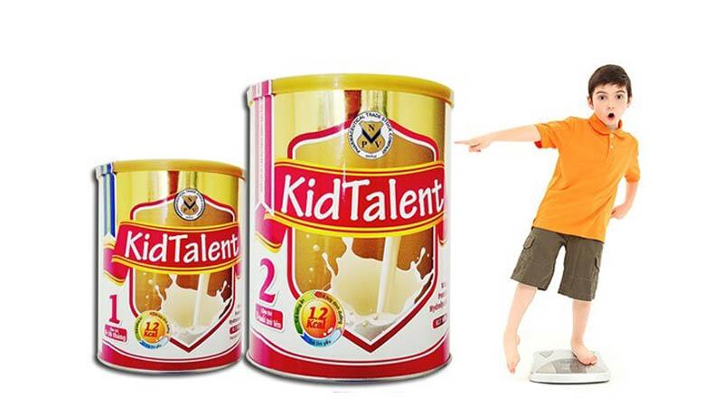 Sữa KidTalent hỗ trợ tăng cân và phát triển toàn diện cho trẻ, được Viện dinh dưỡng khuyên dùng vì tầm vóc Việt.