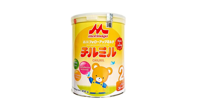 Sữa Morinaga số 2 giúp tăng cường sức đề kháng tự nhiên cho trẻ từ 6 đến 36 tháng tuổi