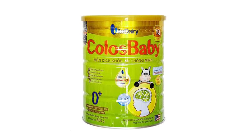 Sữa Colosbaby 0+ của Viện dinh dưỡng