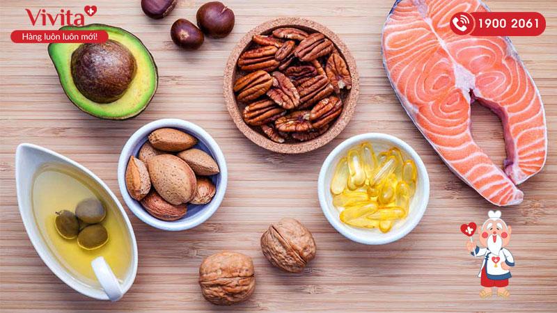 Đa dạng các nhóm thực phẩm để bổ sung DHA cho bé