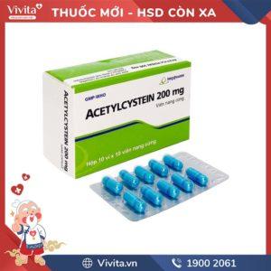 Acetylcystein 200mg imexpharm