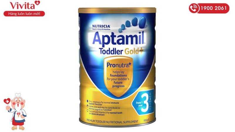 Sữa Aptamil Toddler Gold+ 3