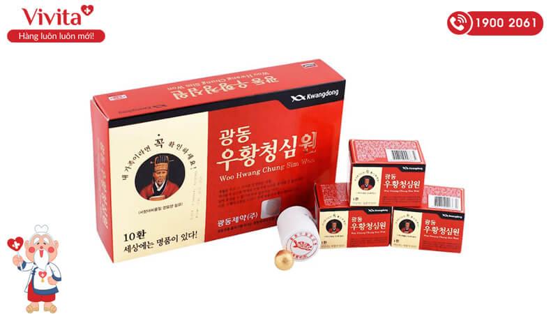 Thuốc chống tai biến An Cung Ngưu của Hàn Quốc
