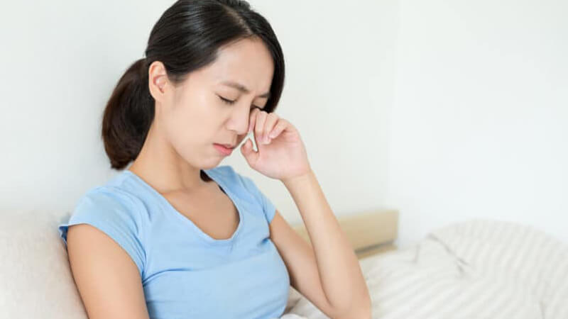 Ốm nhén có thể làm bà bầu mệt mỏi, chán ăn, sút cân