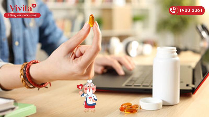 cach uong vitamin e