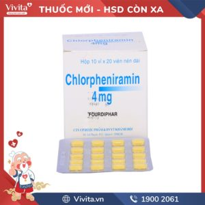 chlorpheniramin 4mg Khánh Hội