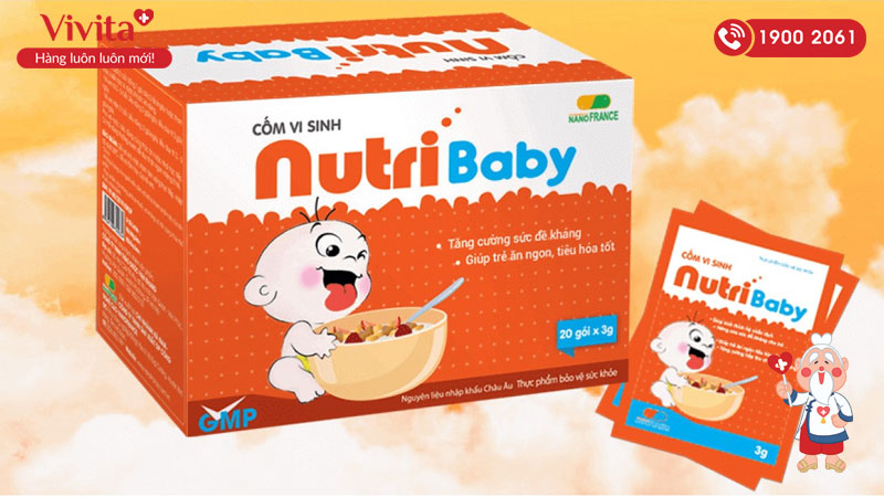 cốm kích thích ăn ngon nutribaby